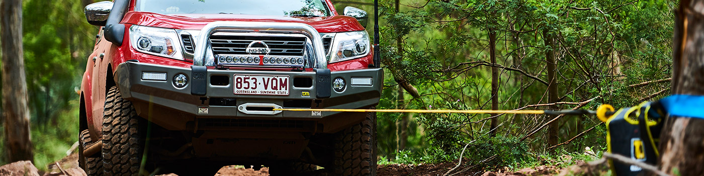TJM winch, lightbar, signature bar