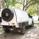 Camping canopy Toyota Hilux