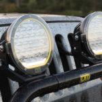 TJM LED spotlights, jeep, narva lights