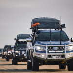 camping convoy, beach driving, roofttop tent, TJM signature bar