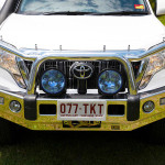 Toyota, TJM Signature bar, spotlights, alloy bull bar