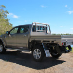 Ford Ranger, Outlawed heavy duty steel tray, colour coded, towbar, side steps and siderails