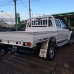 Holden Colorado dualcab Outlawed heavy duty steel tray