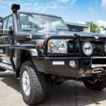 Toyota Landcriuser 70 series , TJM T13 Outback bar