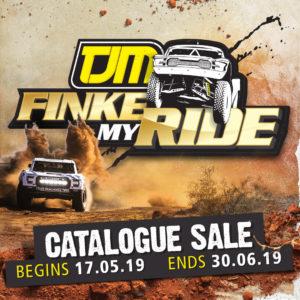 Finke Desert race, TJM catalogue sale