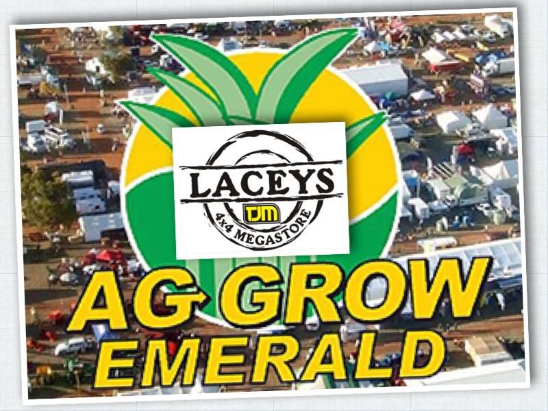 Lacey's TJM Logo, Ag Grow logo